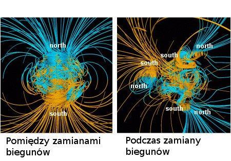 Zamiana biegunów słonecznych
