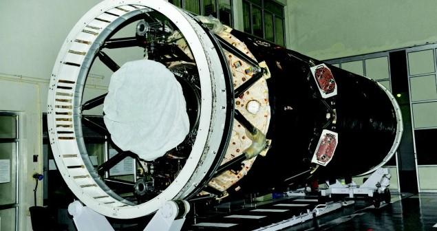 Indyjski trzeci stopień rakiety GSLV MkII / Źródło: www.frontline.in