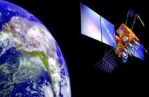 Wizja artystyczna satelity INSAT-3D / Credits: ISRO