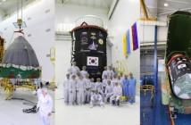 Przygotowywanie rakiety Dniepr do startu / Credits - zakłady KOSMOTRAS