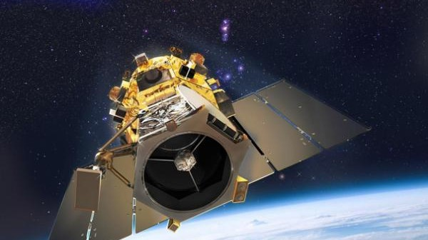 Wizja artystyczna satelity GeoEye-1 / Credits: DigitalGlobe