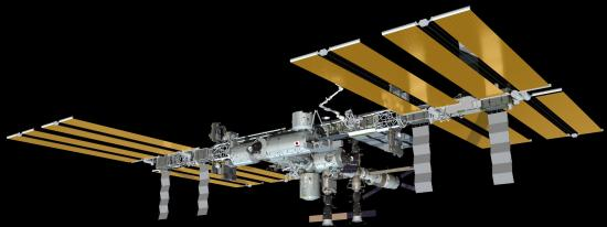 Aktualna konfiguracja stacji ISS / Credits: NASA
