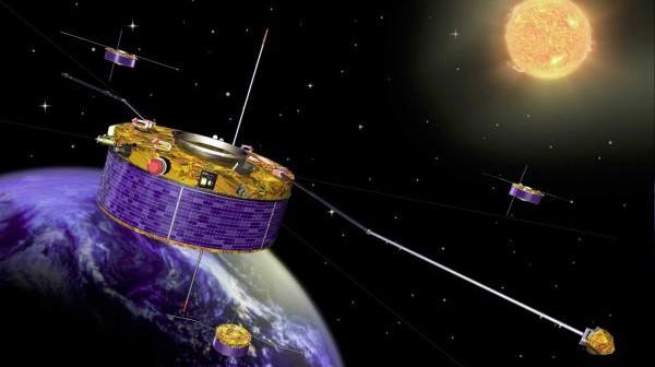 Konstelacja Cluster / Credits: ESA
