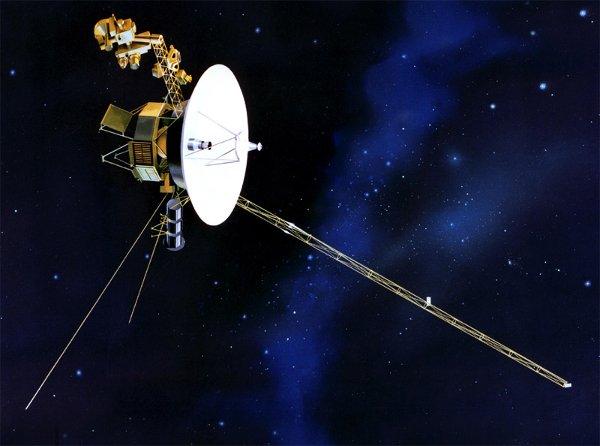 Wizja artystyczna sondy Voyager 1 / Credits: NASA