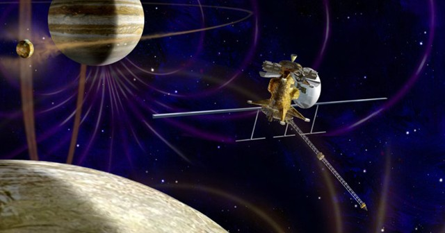 Jupiter Europa Orbiter - wizualizacja / Credits: NASA
