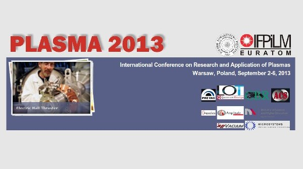 Grafika związana z konferencją PLASMA-2013 / Credits - organizatorzy PLASMA-2013