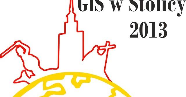 Logo konferencji GIS w Stolicy 2013