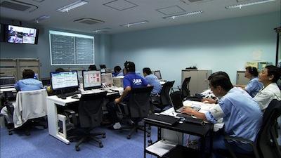 Niewielkie centrum obsługi startu rakiety Epsilon / Credits: JAXA