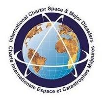 Logo Międzynarodowej Karty Przestrzeni Kosmicznej i Kataklizmów