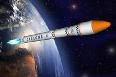 Wizja artystyczna rakiety Cyklon-4 / Credits: KyivPost