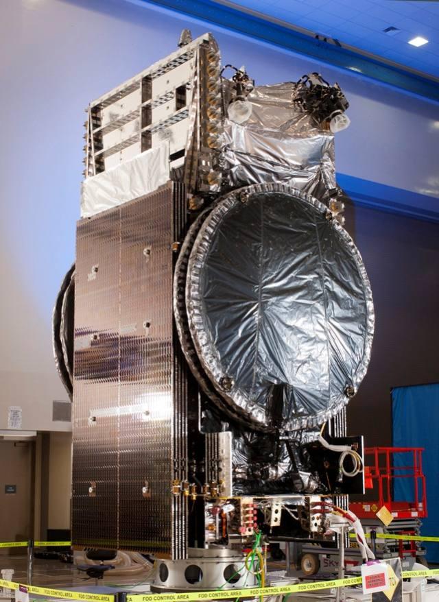 Satelita serii JCSat oparty o platformę A2100 / Credits: Lockheed Martin