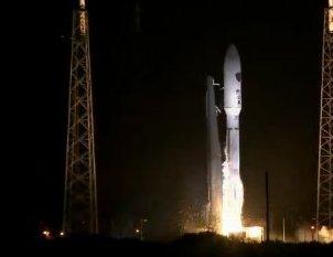 Start rakiety Altas V - 18.09.2013 / Credits - ULA, livestream