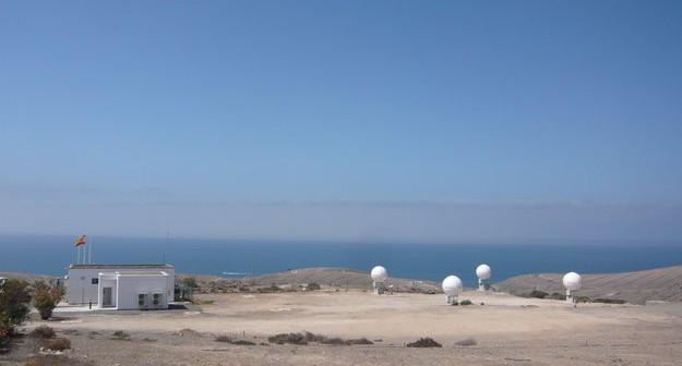 Stacja MEOLUT koło Maspalomas na wyspoe Gran Canaria / Credits: ESA