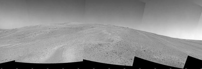 Solander Point sfotografowany przez Opportunity 21 października 2013 / Credits: NASA, JPL-Caltech