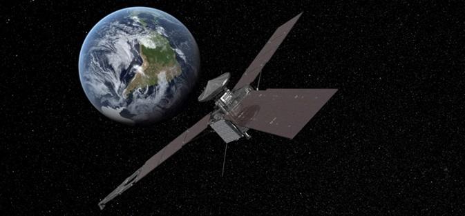 Sonda Juno w pobliżu Ziemi / Credits: NASA