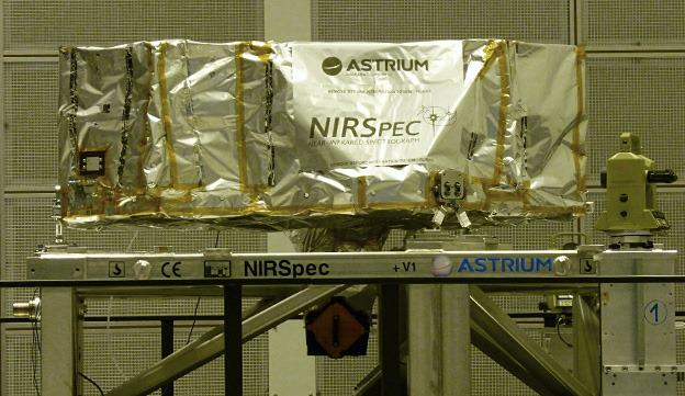 Przyrząd NIRSpec jeszcze w zakładach EADS Astrium / Credits: EADS