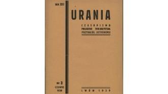 Okładka 3 numeru Uranii z 1939 roku / Credits - Urania