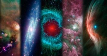 Mozaika zdjęć z teleskopu Spitzera / Credits: NASA