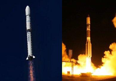 Rakiety CZ-4B i Proton-M / Credits - Xihua i ILS