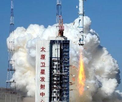 Start rakiety Długi Marsz 2C z satelitą Yaogan 18 / Credits: news.cn