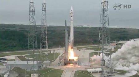 Start sondy MAVEN rakietą Atlas V / Credits: NASA