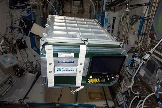 Pakiet eksperymentów naukowych wyniesionych na ISS poprzez Nanoracks / Credits: NASA