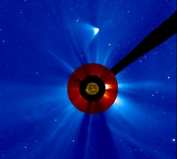 ISON po przejściu peryhelium / Credits: NASA