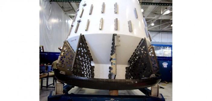 Makieta kapsuły Dragon / Credits: SpaceX