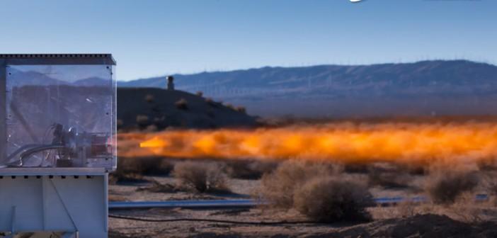 Test silnika XR-5H25 / Credits: ULA-XCOR