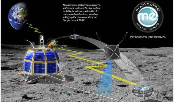 Przedstawienie misji Moon Express / Credits: Moon Express