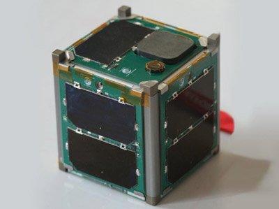 Model satelity typu CubeSat 1 U / Credits - Vermont Technical College