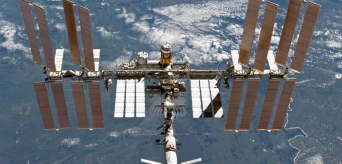 Stacja kosmiczna ISS / Credits: NASA