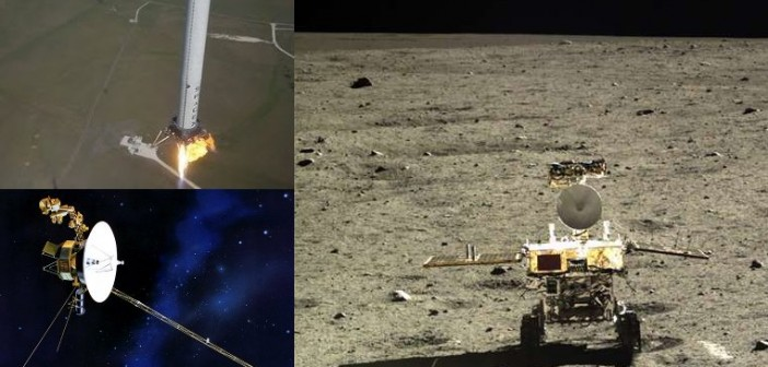 Podsumowanie 2013 roku - część 1 / Credits - NASA, SpaceX, CNSA