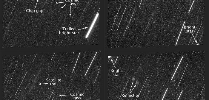 Obrazy z 18 grudnia wykonane przez HST wraz z opisem / Credits - NASA, ESA
