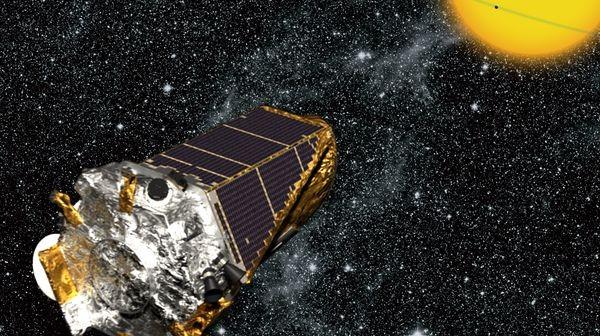 Kepler w przestrzeni kosmicznej - wizualizacja / Credits: NASA