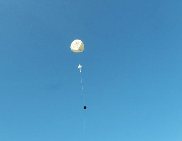 Start balonu SEBA-6 - 28.12.2013 / Credits - Tomasz Brol