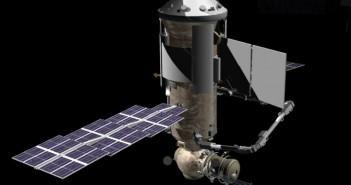 Wizualizacja modułu MLM Nauka / Credits: NASA