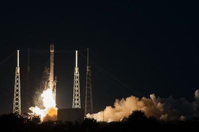 Falcon 9 v1.1, 3 grudnia 2013 / Credits: SpaceX