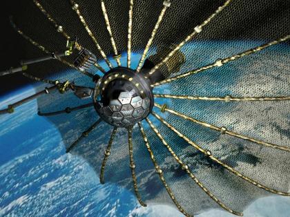 Wizja misji Phoenix / Credits - DARPA