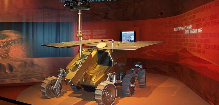 Model łazika ExoMars na targach ILA 2006 / Credits: Thomas Hagemeyer, License: CC-A-SA 3.0