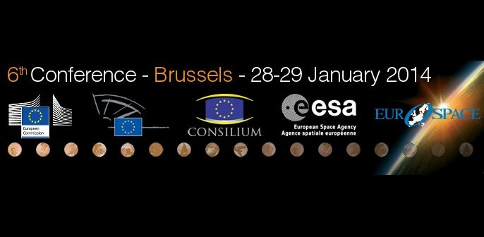 Banner konferencji EU Space Policy / Credits - organizatorzy konferencji EU Space Policy