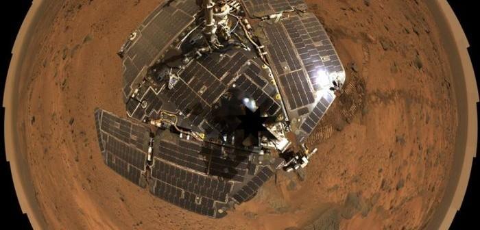 """""""Selfie"""" wykonane przez łazik Opportunity / Credit: NASA"""