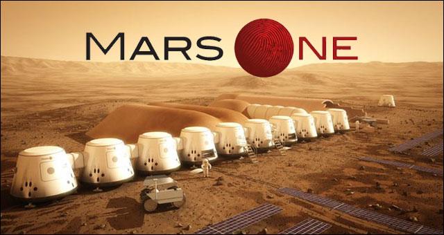 Wizja osady Mars One na Czerwonej Planecie / Credits - Mars One