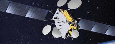 Jamał 601 - wizualizacja / Credits: Thales Alenia Space