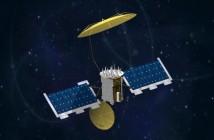Satelita serii MUOS - wizualizacja / Credits: Lockheed Martin