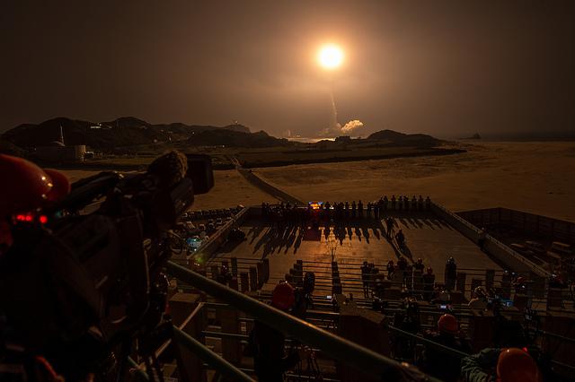 Start GPM z japońskiej Tanegashimy / Credits: NASA