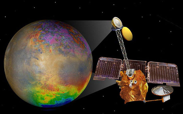 2001 Mars Odyssey / Credits: NASA