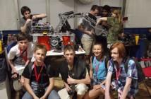 Zwycięski zespół konkursu ASTROBOT 1 z 2013 roku / Credits - PlanetPR