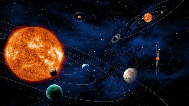 Różne systemy egzoplanet