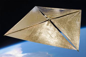 Koncept satelity Lunarsail / Credits: Lunarsail
